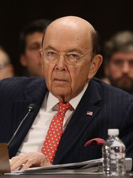 Wilbur Ross「Transportation Secretary Chao And Commerce Secretary Wilbur Ross Testify To Senate Committee On Infrastructure」:写真・画像(2)[壁紙.com]