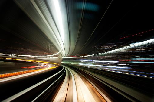 かえる「夜のトンネル」:スマホ壁紙(9)