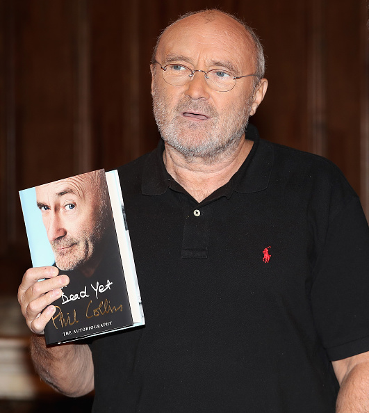 Biography「Phil Collins Launches His Autobiography 'Not Dead Yet' - Photocall」:写真・画像(1)[壁紙.com]