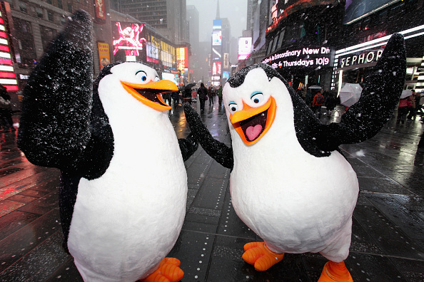 映画・DVD「'Penguins Of Madagascar' Blu-ray/DVD Jumbotron Premiere In Times Square」:写真・画像(5)[壁紙.com]