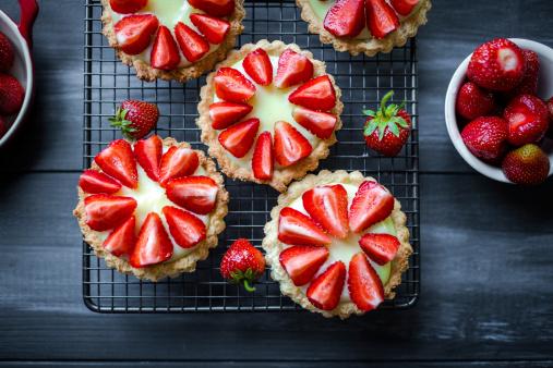 Sweet Food「Tartlets」:スマホ壁紙(3)