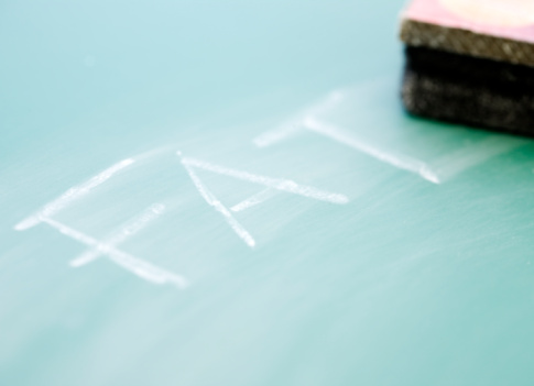Board Eraser「The word fat erased from a blackboard」:スマホ壁紙(12)