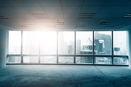 Change「empty office」:スマホ壁紙(7)