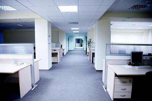 Corporate Business「Empty office」:スマホ壁紙(1)
