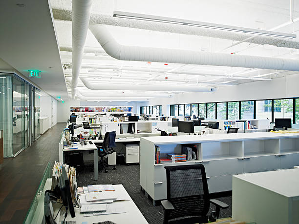 Empty office:スマホ壁紙(壁紙.com)