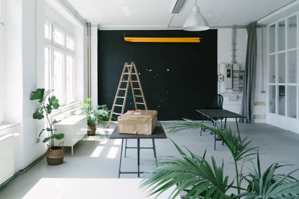 Empty office space, no people:スマホ壁紙(壁紙.com)