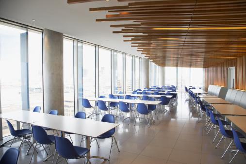 Corporate Business「Empty office break room」:スマホ壁紙(11)