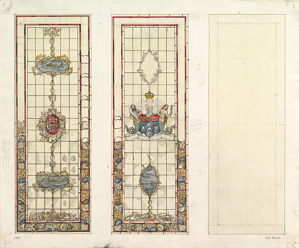 Animal Body Part「Design Of Marine Motifs For Stained Glass」:写真・画像(2)[壁紙.com]