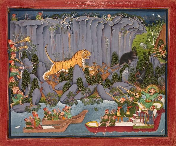 Dramatic Landscape「Tiger Hunt Of Ram Singh Ii」:写真・画像(13)[壁紙.com]