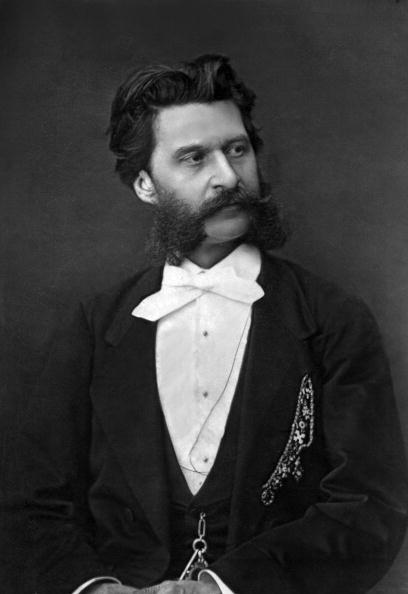 "Composer「Johann Strauss II (1825-1899) Austrian composer photo published in ""Paris-theater"" from 8 to 14 February 1877 Mulnier cliche」:写真・画像(18)[壁紙.com]"