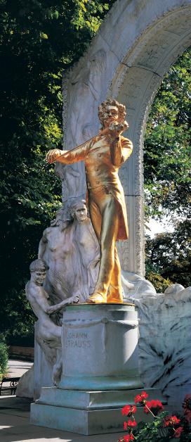 Violin「Johann Strauss Monument, Vienna, Austria」:スマホ壁紙(6)