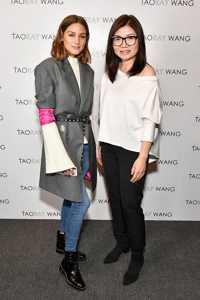 オリヴィア・パレルモ「Taoray Wang - Backstage - February 2018 - New York Fashion Week: The Shows」:写真・画像(10)[壁紙.com]