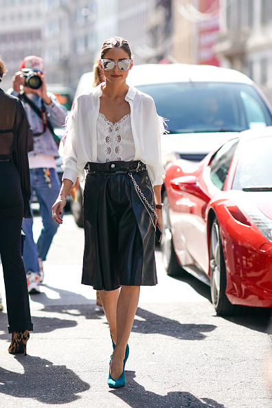 Shorts「Ermanno Scervino – Street Style - Milan Fashion Week Spring Summer 2020」:写真・画像(6)[壁紙.com]