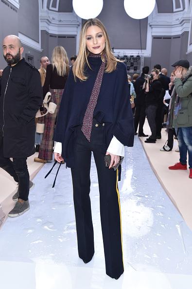 オリヴィア・パレルモ「Chloe : Front Row  - Paris Fashion Week Womenswear Fall/Winter 2017/2018」:写真・画像(16)[壁紙.com]