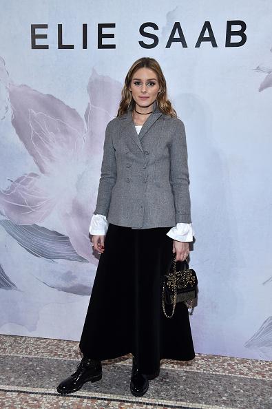 オリヴィア・パレルモ「Elie Saab: Front Row  - Paris Fashion Week Womenswear Fall/Winter 2017/2018」:写真・画像(19)[壁紙.com]