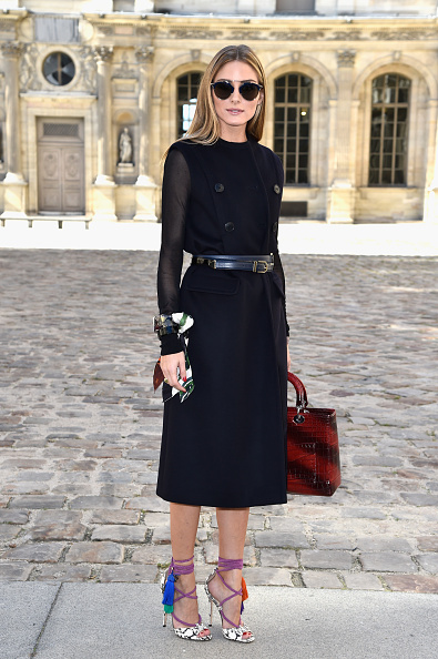オリヴィア・パレルモ「Christian Dior : Outside Arrivals - Paris Fashion Week Womenswear Spring/Summer 2015」:写真・画像(16)[壁紙.com]