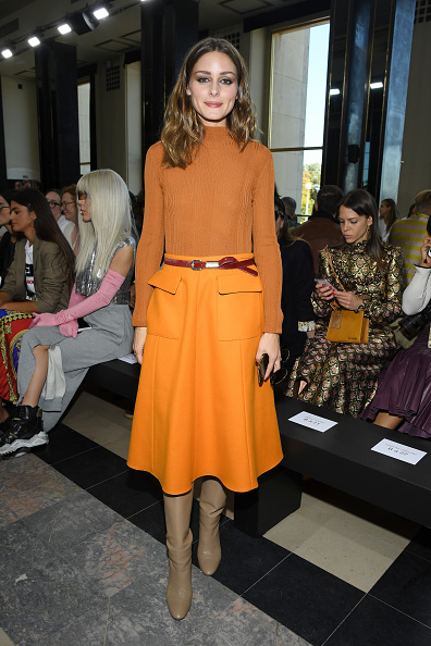 Orange Color「Rochas : Front Row - Paris Fashion Week Womenswear Spring/Summer 2019」:写真・画像(12)[壁紙.com]