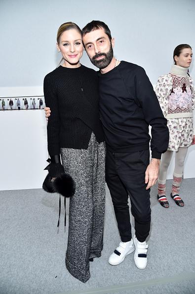 オリヴィア・パレルモ「Moncler Gamme Rouge: Front Row  - Paris Fashion Week Womenswear Fall/Winter 2017/2018」:写真・画像(17)[壁紙.com]