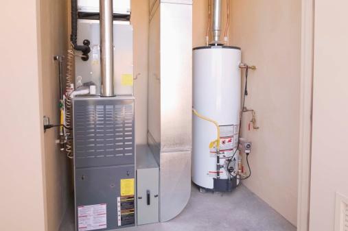 Furnace「Hot water heater and furnace in basement」:スマホ壁紙(3)