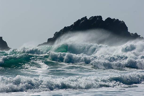 Surf, Cape Cornwall, England, UK:スマホ壁紙(壁紙.com)