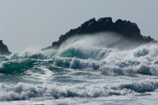 Water's Edge「Surf, Cape Cornwall, England, UK」:スマホ壁紙(12)