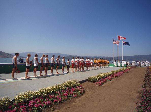 Rowing「XXIII Olympic Summer Games」:写真・画像(15)[壁紙.com]