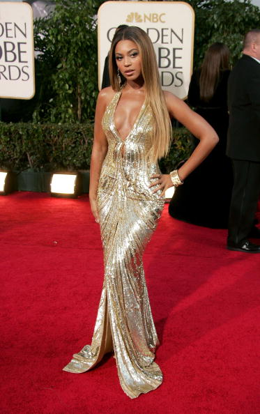Gold Dress「The 64th Annual Golden Globe Awards - Arrivals」:写真・画像(8)[壁紙.com]