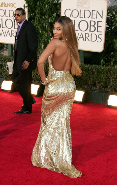 Metallic Dress「The 64th Annual Golden Globe Awards - Arrivals」:写真・画像(3)[壁紙.com]