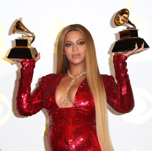 Beyonce Knowles「The 59th GRAMMY Awards - Press Room」:写真・画像(18)[壁紙.com]