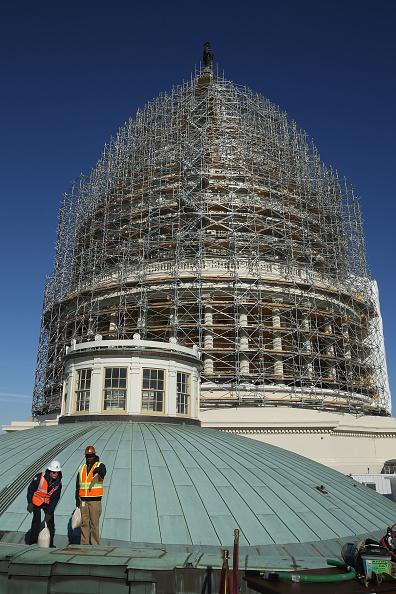 Continuity「Architect Of The Capitol Briefs Media On Dome Restoration」:写真・画像(13)[壁紙.com]
