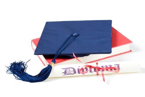 Graduation「Mortar board and a book」:スマホ壁紙(18)
