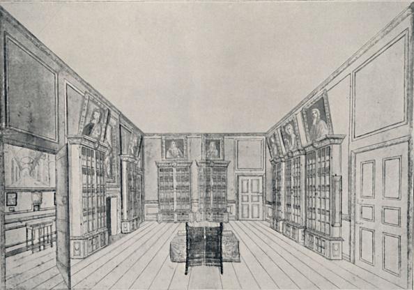 Hardwood Floor「View Looking Inwards Of Samuel Pepyss Library In York Building 1」:写真・画像(15)[壁紙.com]
