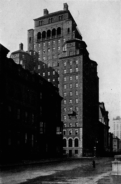 ビジネスと経済「View Looking South On Madison Avenue Of The Fraternity Clubs Building, New York City, 1924」:写真・画像(3)[壁紙.com]