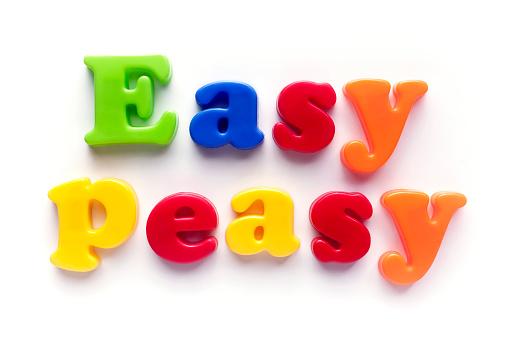 Effortless「Easy peasy」:スマホ壁紙(3)