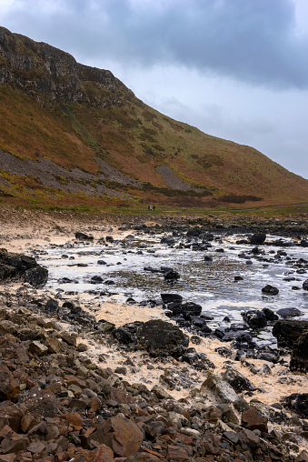 Basalt「Rocky shores of the dramatic Giant's Causeway and Causeway Coast」:スマホ壁紙(14)