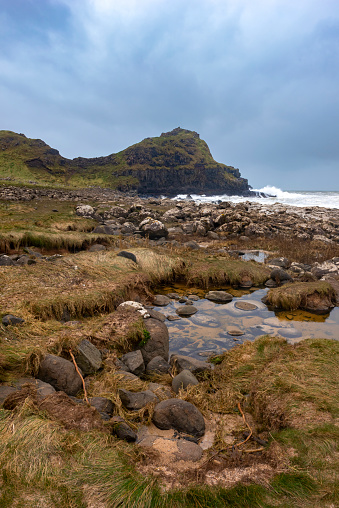 Basalt「Rocky shores of the dramatic Giant's Causeway and Causeway Coast」:スマホ壁紙(8)