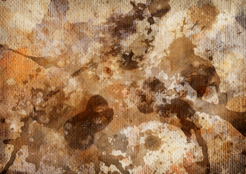 Spraying「Hi-Res Abstract Acrylic Painting on Coarse Primed Jute Canvas」:スマホ壁紙(0)