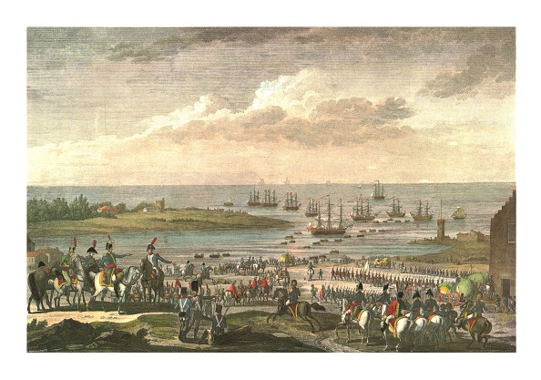 Chromolithograph「Embarkation Of The English In Holland」:写真・画像(13)[壁紙.com]