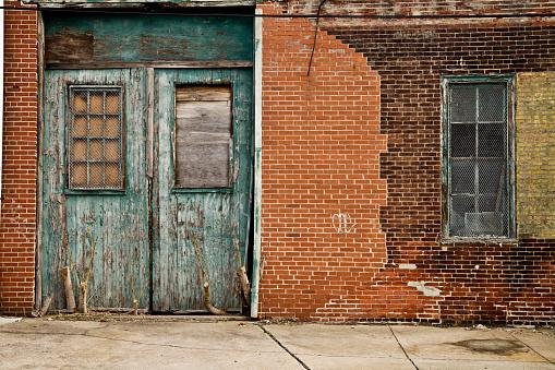 Brick Wall「Abandoned Warehouse」:スマホ壁紙(10)