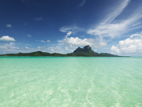 Bora Bora「Bora-Bora Island Lagoon」:スマホ壁紙(6)