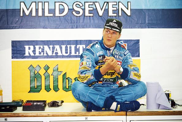 Benetton「Michael Schumacher - Italian Grand Prix 1995」:写真・画像(2)[壁紙.com]