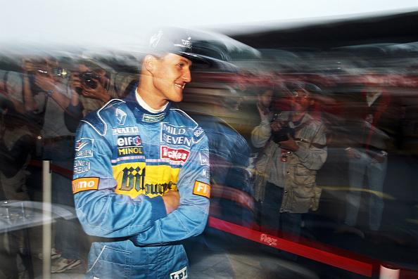 Benetton「Michael Schumacher - San Marino Grand Prix 1995」:写真・画像(8)[壁紙.com]