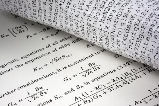 Manuscript「science or gibberish concept」:スマホ壁紙(10)