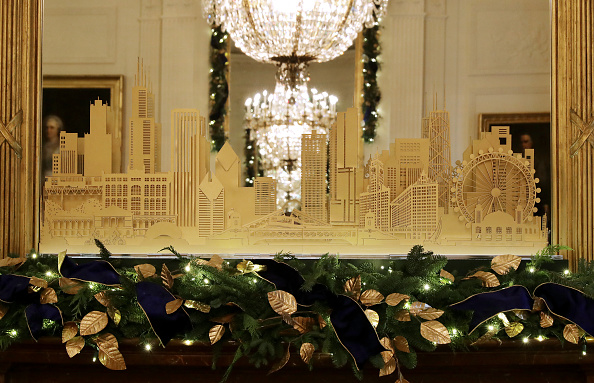 Chip Somodevilla「Holiday Decorations On Display At The White House」:写真・画像(17)[壁紙.com]