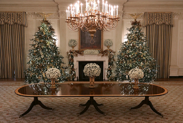 Decoration「Holiday Decorations On Display At The White House」:写真・画像(4)[壁紙.com]
