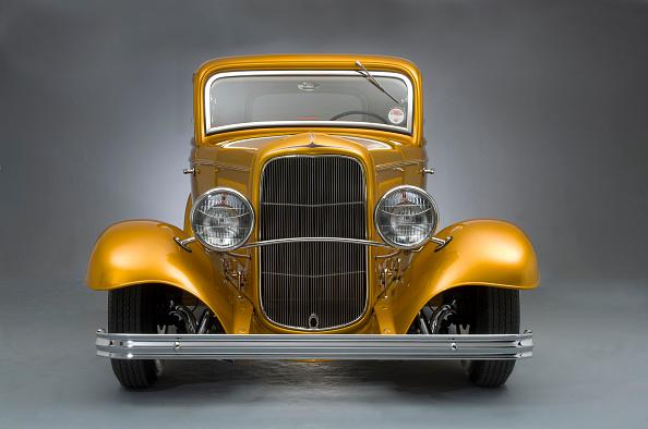 Gold Colored「1932 Ford Model B Custom Car」:写真・画像(16)[壁紙.com]