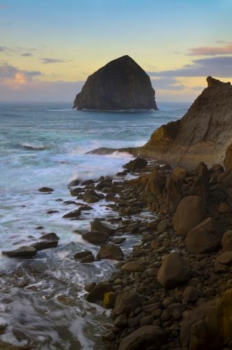 Haystack Rock「USA, Oregon, Pacific City, Haystack Rock」:スマホ壁紙(19)