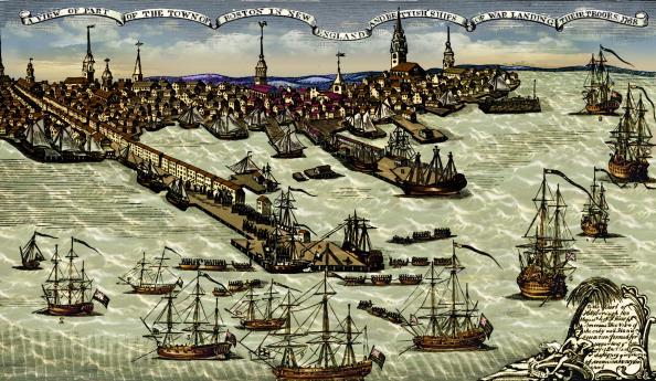 18th Century Style「Landing of British troops at Boston harbour, 1768」:写真・画像(16)[壁紙.com]