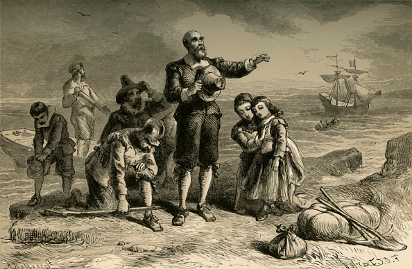 Ship「Landing Of The Pilgrims」:写真・画像(9)[壁紙.com]