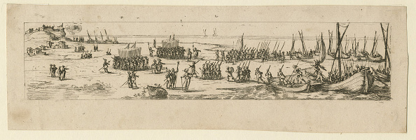 Nouvelle-Aquitaine「Landing Of Troops At The Siege Of La Rochelle」:写真・画像(0)[壁紙.com]